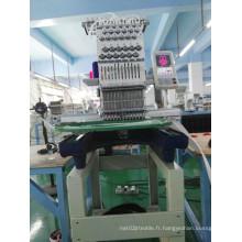 Machine utilisée de broderie de chapeau d'ordinateur d'aiguilles de tête d'Ingle 15 pour la vente en gros Wy1501CS