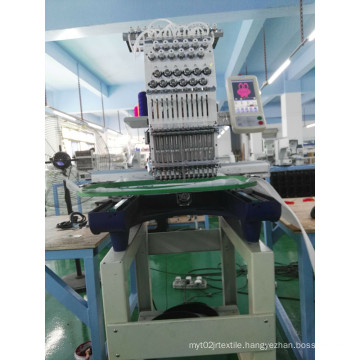 Used Ingle Head 15 Needles Computer Cap Embroidery Machine for Wholesale Wy1501CS