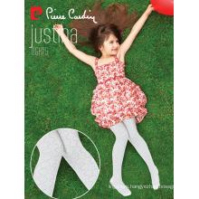 Pierre Cardin Justina OEM Wholesale Kids Girl Fancy Microfiber Cotton Tights Patterned Pantyhose Multi Color