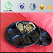 China Professional Manufacturer and Exporter Global Wholesale U. S. Market Popular Blister Process Type Plastic Flat Stackable Plastic Oyster Tray