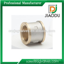 1/2 Zoll 29mm 3/4 Zoll 32mm 1Inch 34mm 1.1 / 4 1.1 / 2 Zoll 42 47mm 2 Zoll Messing Nickel verchromt Gelbes Gewinde Socket Fitting