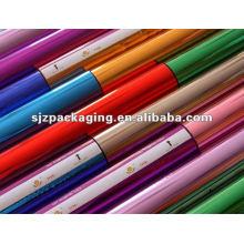 colorful metallized mylar film