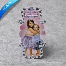 Etiqueta de papel com formato bonito personalizado a preço de fábrica para roupas infantis