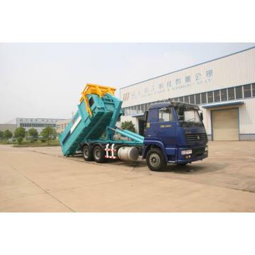 Sinotruck carro de basura de contenedor (HJG5250ZXX) desmontable 6 X 4 13,2 toneladas