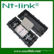 Fermeture d'épissure à fibre optique horizontale horizontale 144