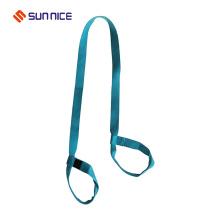 Best Price Adjustable Hook Loop Yoga Mat Strap