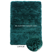 Mjuk Polyester Imitation Fur Shaggy Carpet