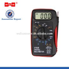 multímetro digital de bolsillo DT83B con prueba de batería
