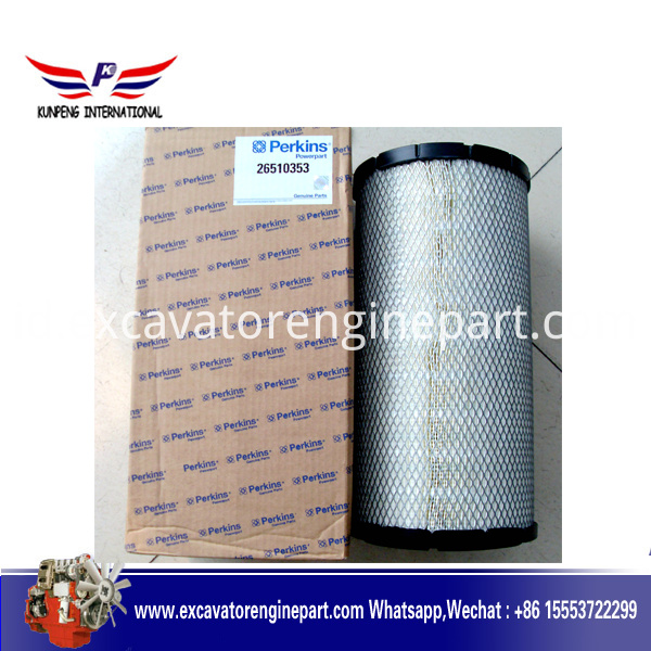 perkins generator spare parts engine air filter 26561117