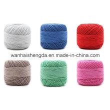 Fio de algodão tingido de bambu padrão tingido