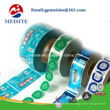 Пластиковые пакеты для пакетов Печенье Печенье Печатная упаковка для пищевых продуктов в рулонах