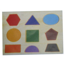 Wooden Toy Shapes Wooden Puzzle