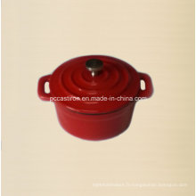 Mini-casserole émaillée en fonte 10 cm