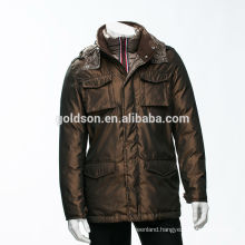 Top rated OEM wholesales goose down winter jacket men parka