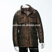 Лучшие по рейтингу ОЕМ оптовые гусиный пух зимняя куртка мужчины parka