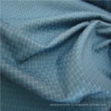 Тканые ткани из ткани Добби Twill Plaid Plain Check Оксфордская наружная жаккардовая ткань из 100% полиэстера (X046)
