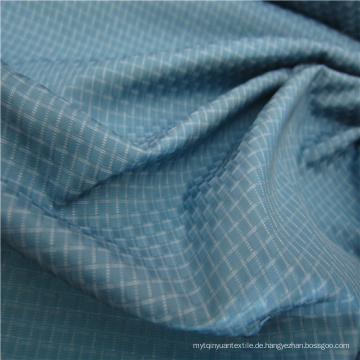 Gewebte Dobby Twill Plaid Plain Check Oxford Outdoor Jacquard 100% Polyester Stoff (X046)