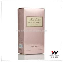 Huile de parfum d'emballage de papier d'impression de haute qualité