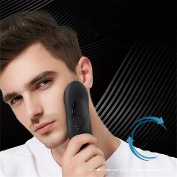 Escova indutiva de limpeza facial para homem
