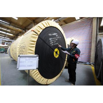 Correa transportadora de cable de acero de 800 mm 4/2 ST1000