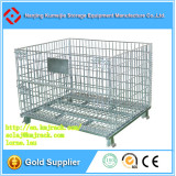 Warehouse Foldable Steel Wire Storage Cage