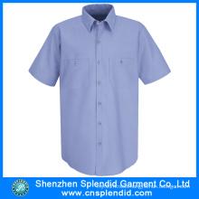 Wholesale Apparel Men Cheap Plain Twill Cotton Work Wear