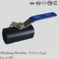 NPT Guang Type Monolock Carbon Steel Floating Ball Valve