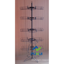 Floor Standing Spinning Hat Display Rack (pH15-383)