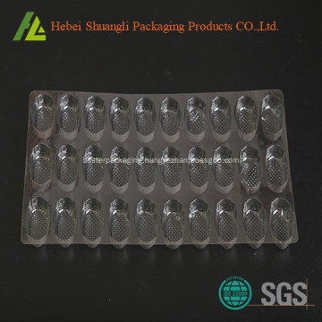 Clear transparent disposable small candy tray