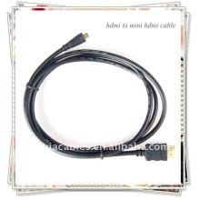 BRAND NEW PREMIUM Noir HDMI vers Mini HDMI Type C Câble mâle pour HDTV DV 1080p