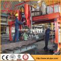 gantry automatic submerged arc welding, assembling h beam welder
