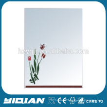 Hot sell new design wall hung hotel lighted vanity mirror