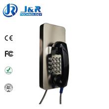 Gefängnis SIP / VoIP Telefon, schroffe drahtlose Telefone, Parkplätze Notruf