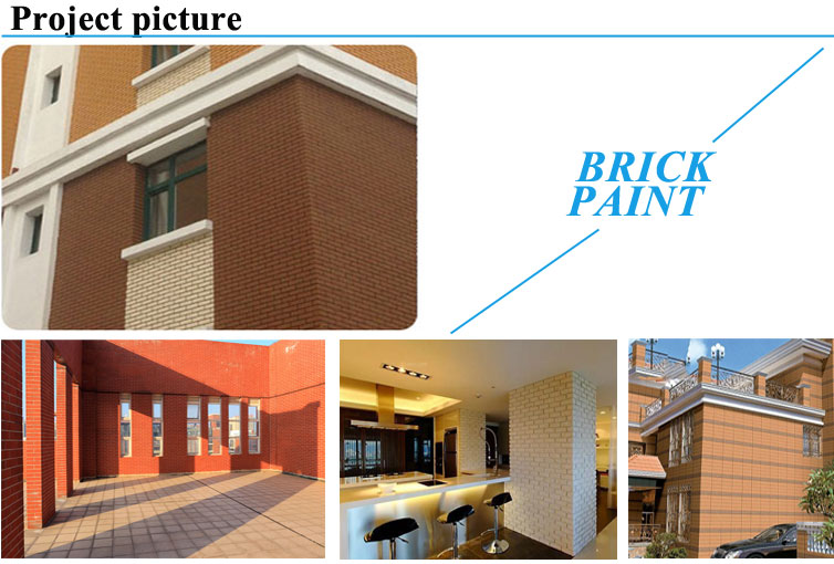 Brick wall paint finishes