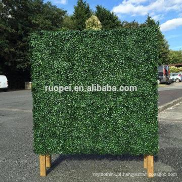 Cheap parede de planta artificial de plástico para decoração