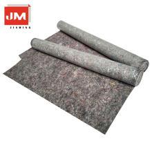 laminación de la máquina pe de fibra de poliéster no tejido planta impermeable de la alfombra con lámina de PE para pintar