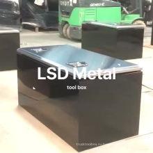 большой пустой металлический ящик для инструмента для грузовика большой пустой металлический ящик для инструмента для грузовика