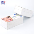 Book style paper packaging for dental scaler