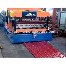 glazed tile making machine /tile roll forming machine/glazed tile roll forming machine