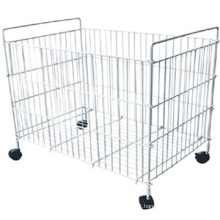 Wholesale best price light duty steel wire container with high quality