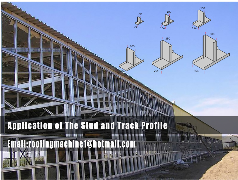 application of the stud and track