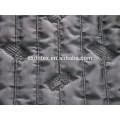 Bande polyester mode brodé thermique tissu rembourré avec matelassage pour doudoune/manteaux
