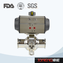 Stainless Steel Pneumatic Sanitary Non Retention Ball Valve (JN-BLV2006)