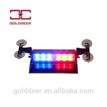 Полиции автомобиль лобовое стекло свет LED предупреждение тире свет строба