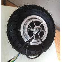 "Wide tyre design 12"" Hub Motor Wheel Electric 60v 1000w For Transport Vehicle Electric"