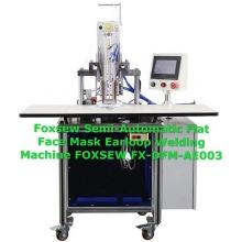 Semi-Automatic Flat Face Mask Earloop Welding Machine