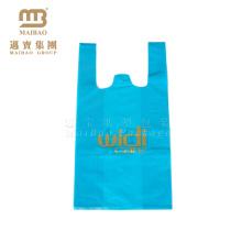 Venda de fábrica Personalizado Compostable EPI D2W PLA Amido de Milho 100% OXO Biodegradável T-shirt de Plástico Sacos