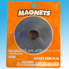 Blister packed magnetic strip magnetic peel sticker adhesive roll
