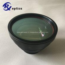 Lentille de balayage F-thêta pour machine optique laser 532nm