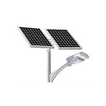 Tipo rachado de alta qualidade luzes solares da estrada das luzes de rua 40W do diodo emissor de luz